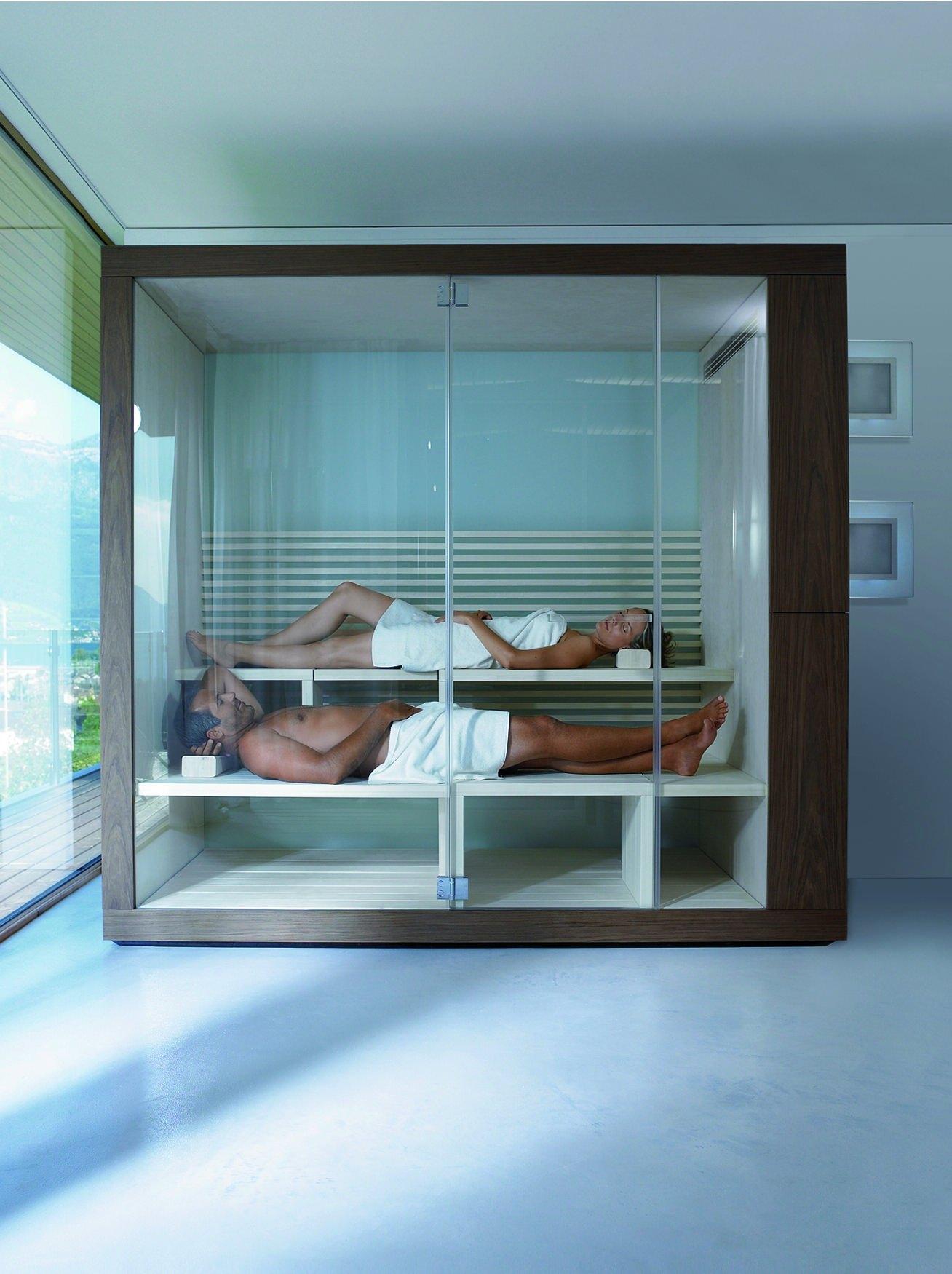 Duravit Inipi Sauna 1800 x 1186mm Freestanding Version  751022002011000