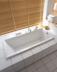 Duravit 2nd Floor Built-In Bath With Support Frame 1700 x ...