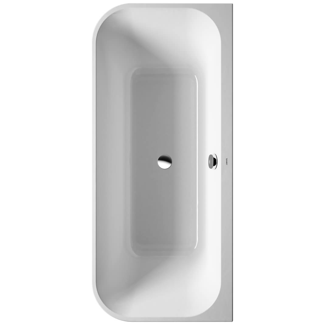 Duravit Happy D2 BackToWall 1800 x 800mm Bath With Panel