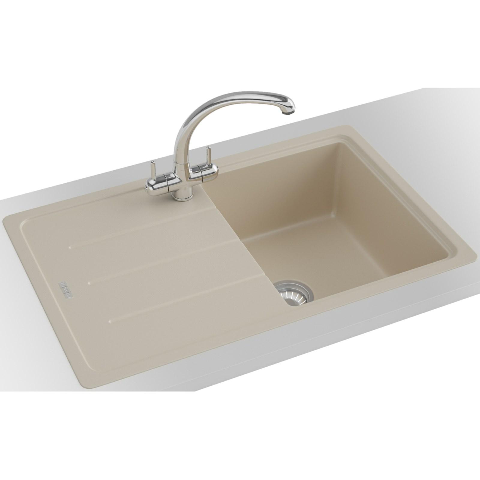 franco kitchen sinks menards backsplash franke basis bfg 611 780 fragranite coffee 1 bowl