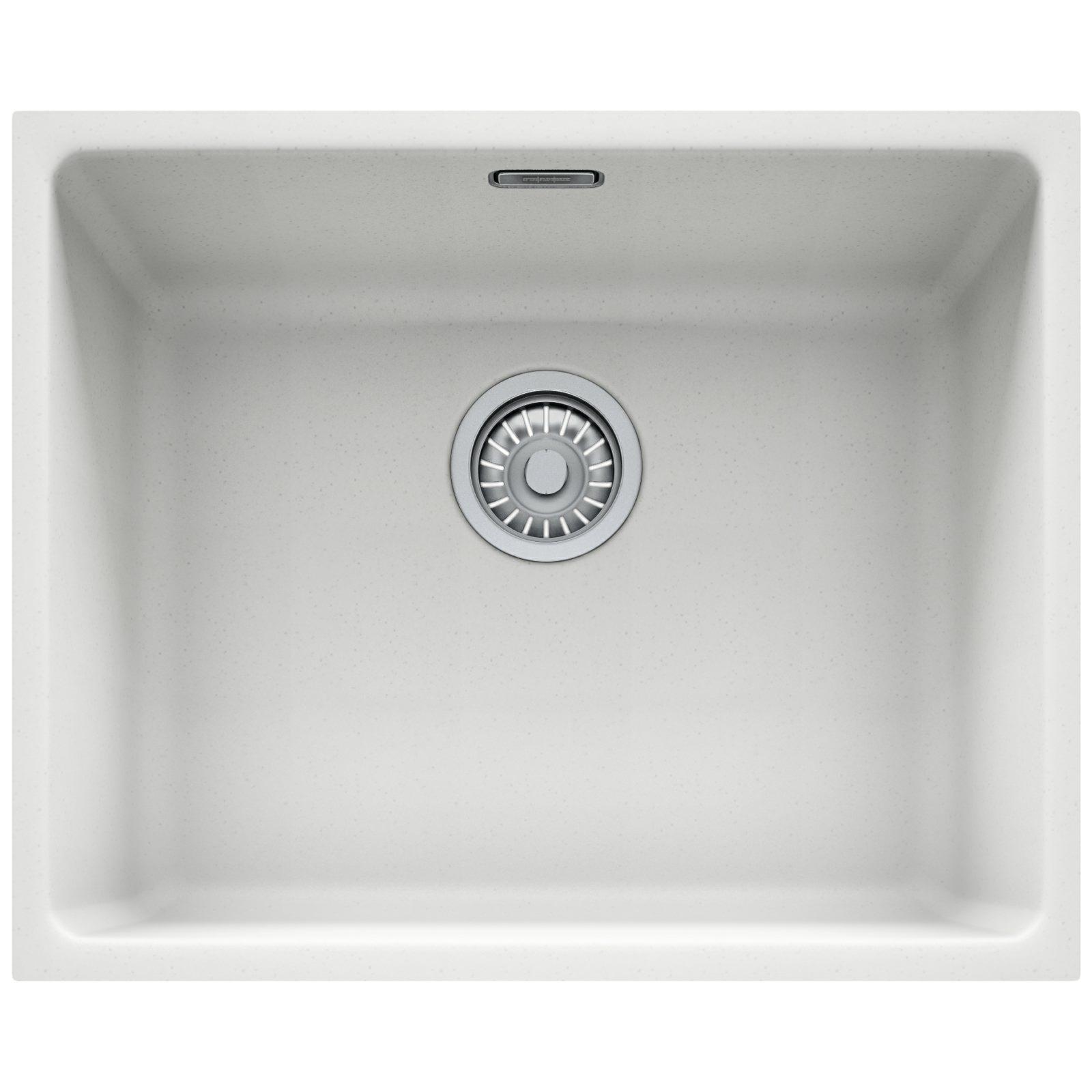 franke kitchen sinks delta talbott faucet kubus kbg 110 50 fragranite 1.0 bowl undermount ...