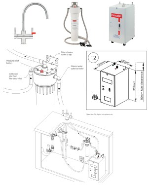 Franke Omni 4In1 Instant Boiling Water Kettle Kitchen Sink Tap | 1190380520
