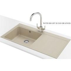 Franke Kitchen Sinks Sink Mythos Mtg 611 Fragranite Coffee 1 Bowl Inset