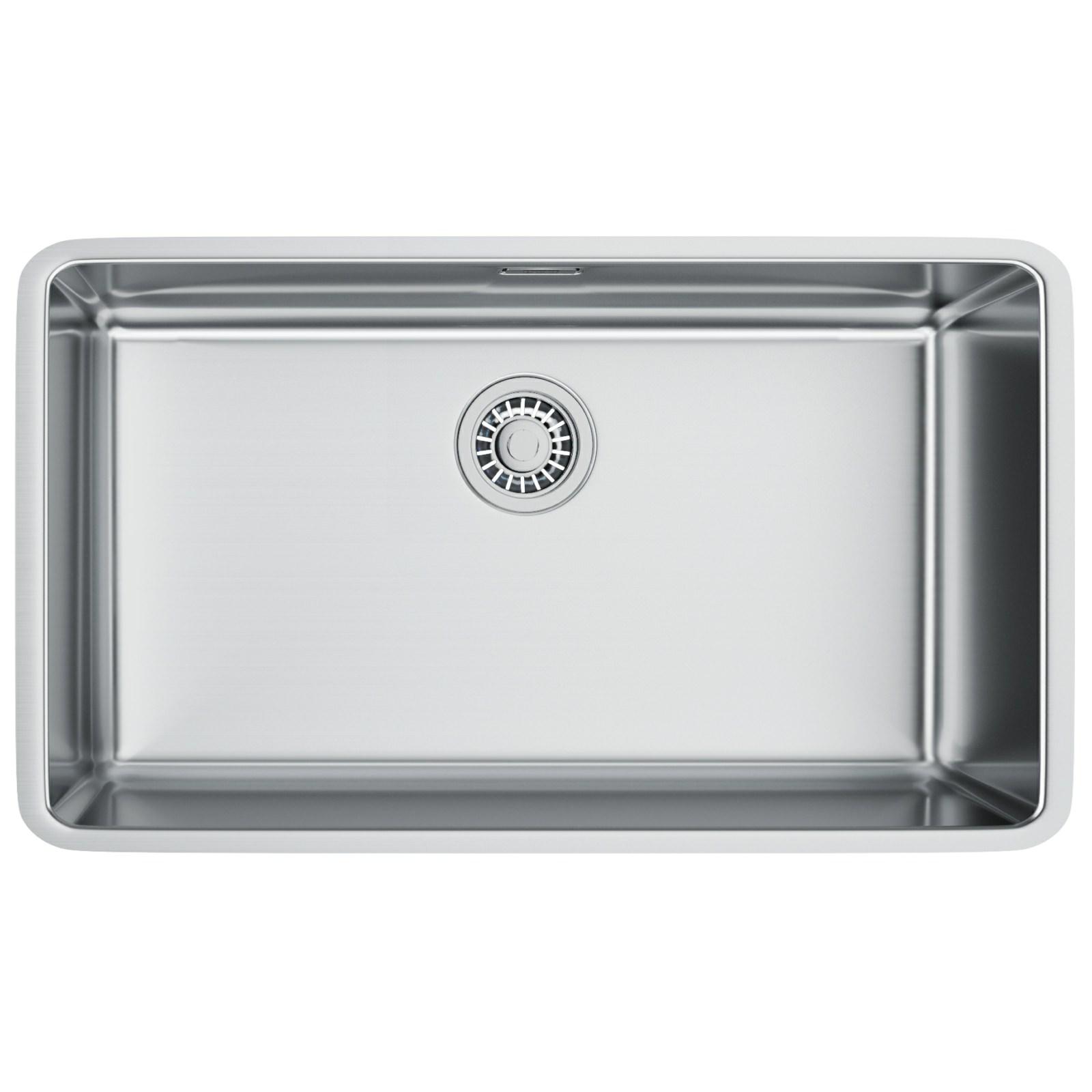franke kitchen sinks counter height table sets kubus kbx 110 70 stainless steel undermount