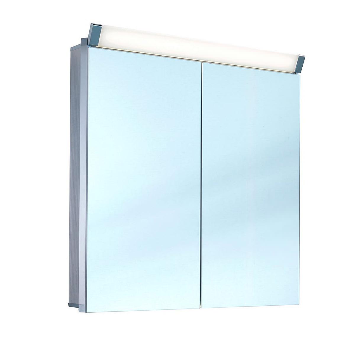 Schneider Paliline 2 Door 760mm Height Mirror Cabinet With