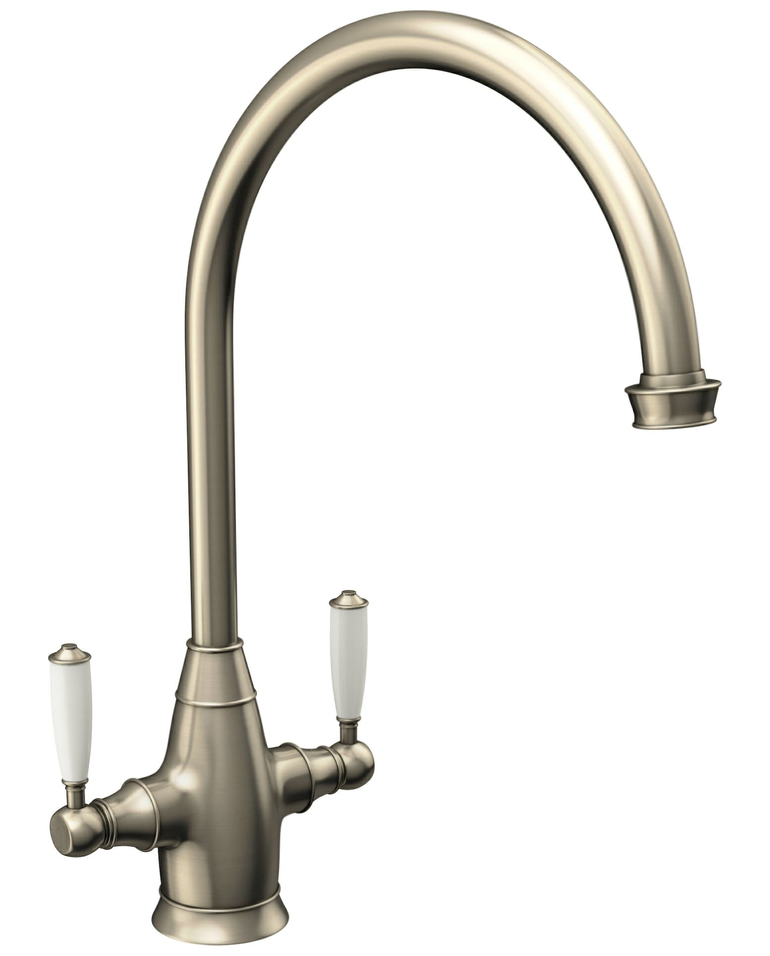Abode Astbury Pewter Monobloc Kitchen Mixer Tap  AT3002