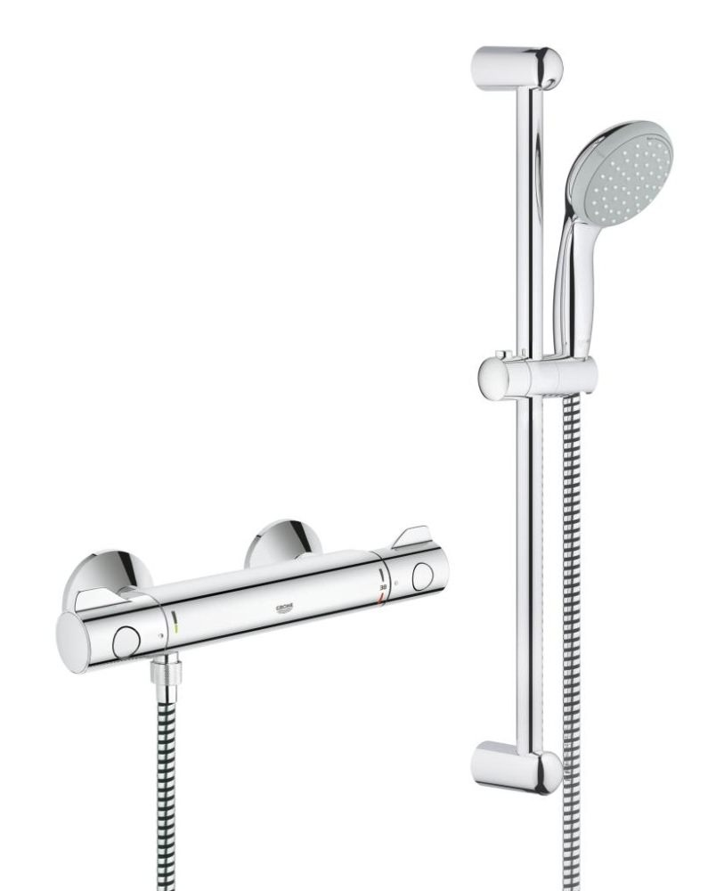 Grohe Grohtherm 800 Thermostatic Shower Mixer Valve with