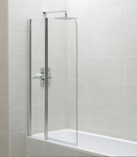 April Identiti2 900 x 1400mm Fixed Panel Bath Screen | AP9577S