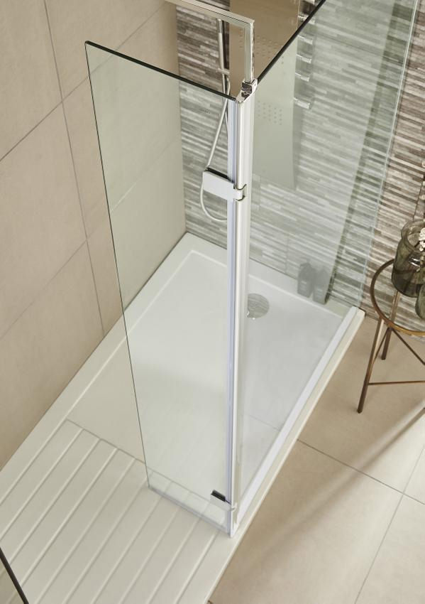 Lauren Wetroom WalkIn 800 x 1850mm Shower Panel With