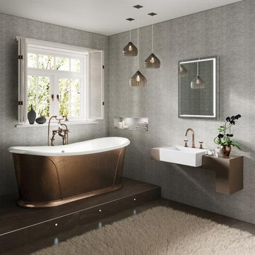 HIB Spectre 60 LED Bathroom Mirror 800 x 600mm  79520000