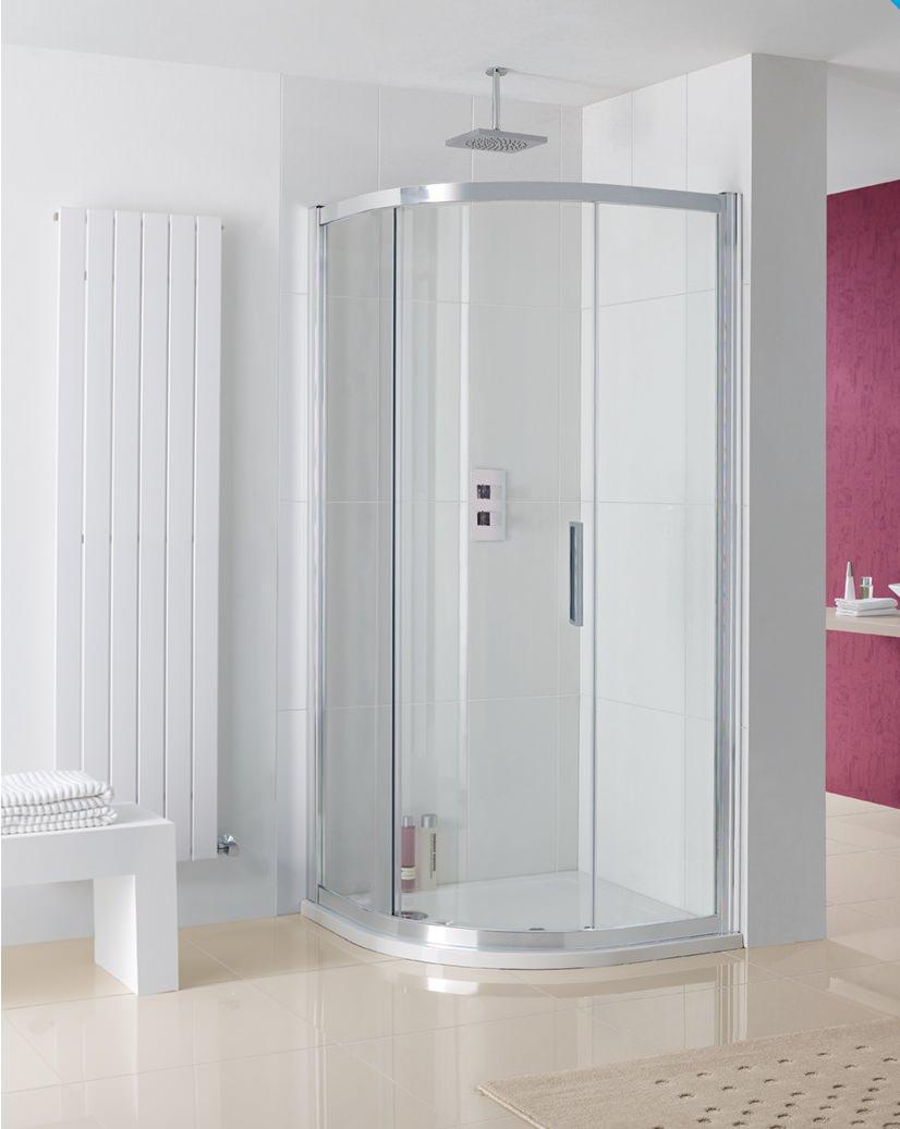 Lakes Coastline Sorong Single Door Quadrant Shower