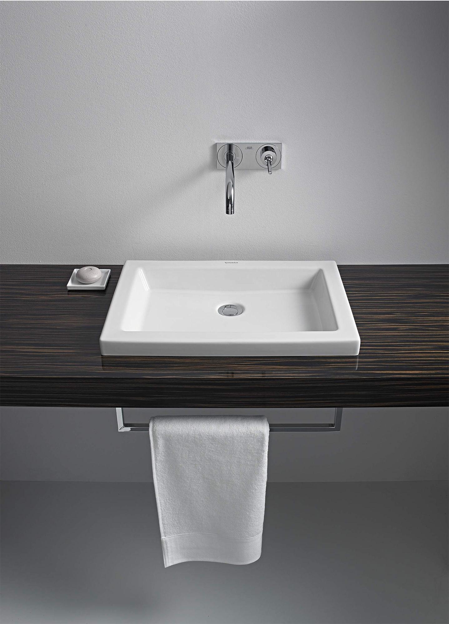 Duravit 2nd Floor 580 x 415mm Countertop Vanity Basin