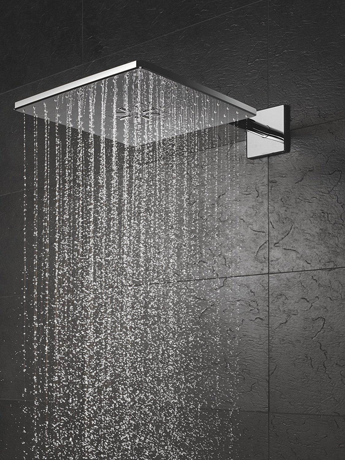 Grohe Smart Control 3Way Chrome Square Shower Set 26479000