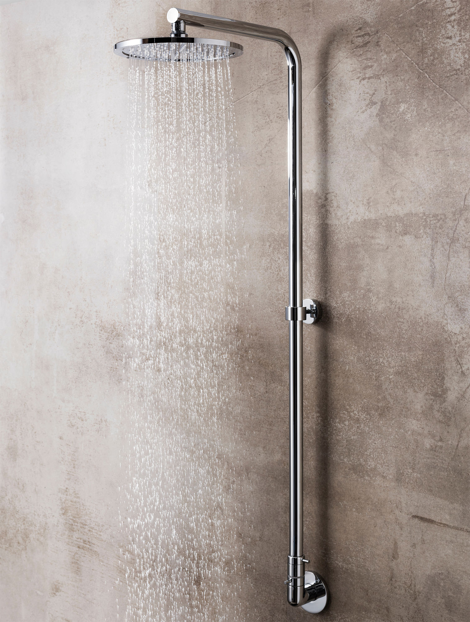 Crosswater Central Inline Exposed Manual Shower Valve