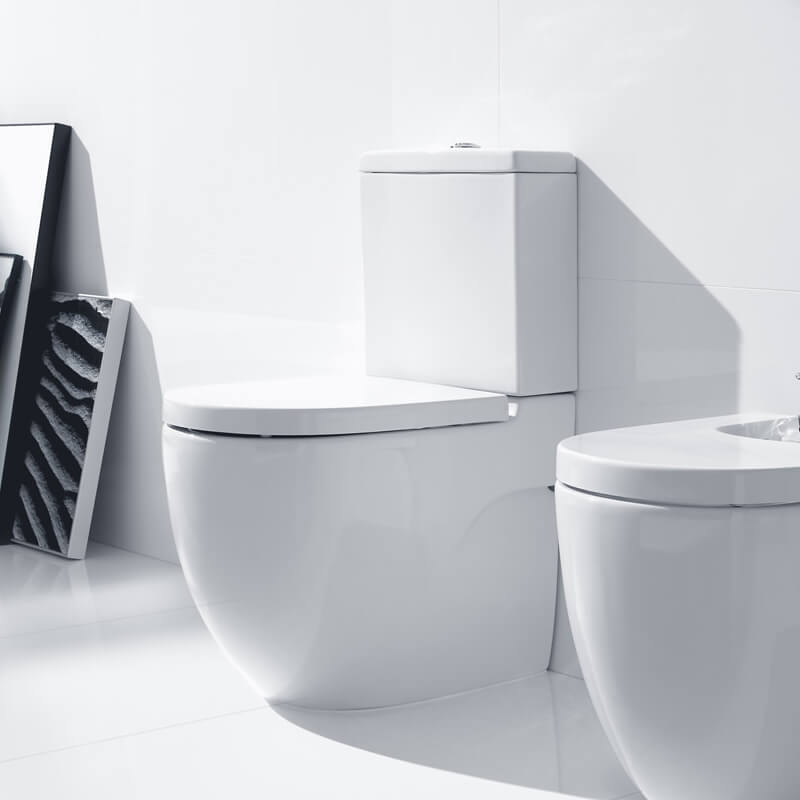 Roca MeridianN Compact Back To Wall WC Set 600mm  342248000