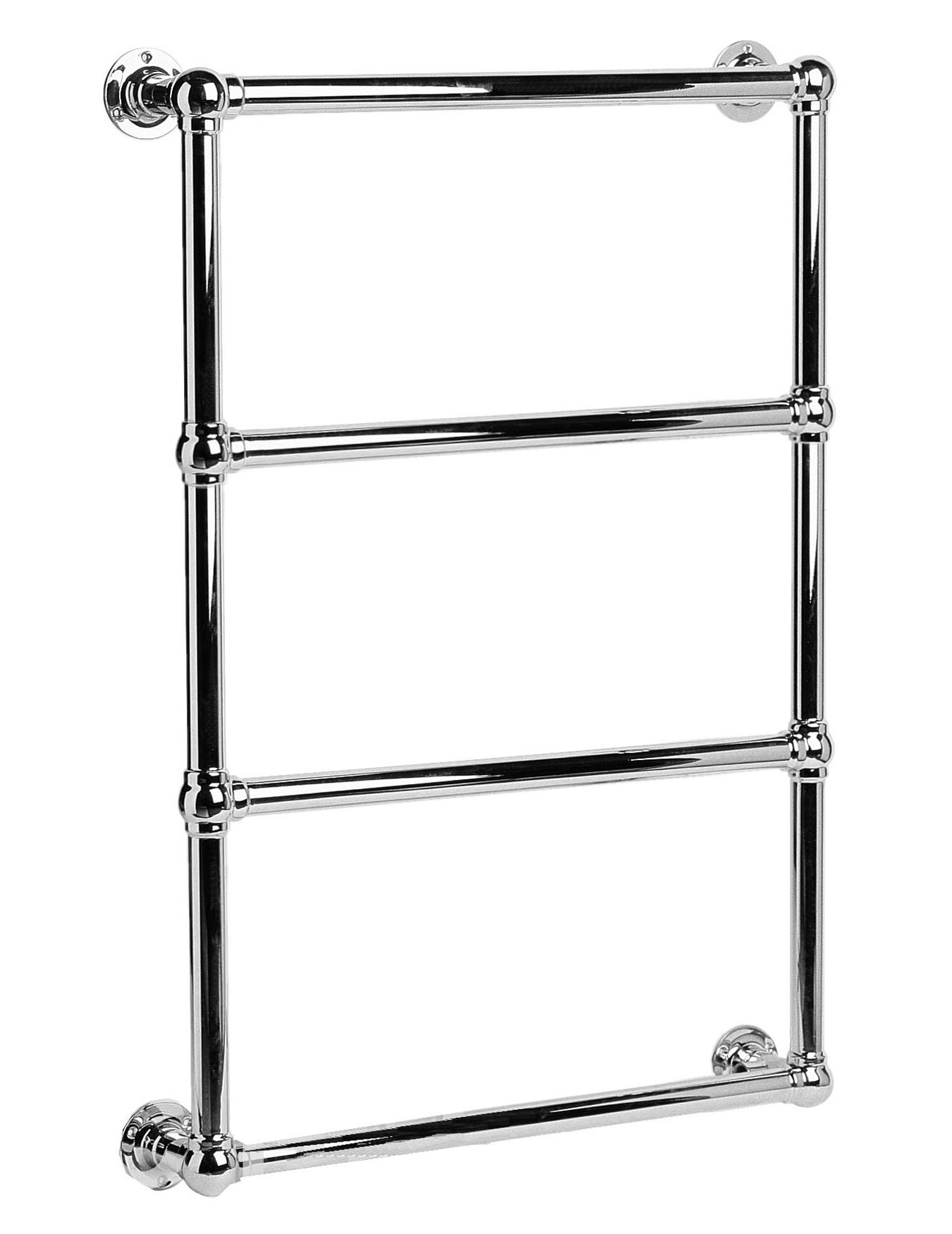 Dq Heating Methwold Wall Mounted Chrome Towel Rail 484mm X