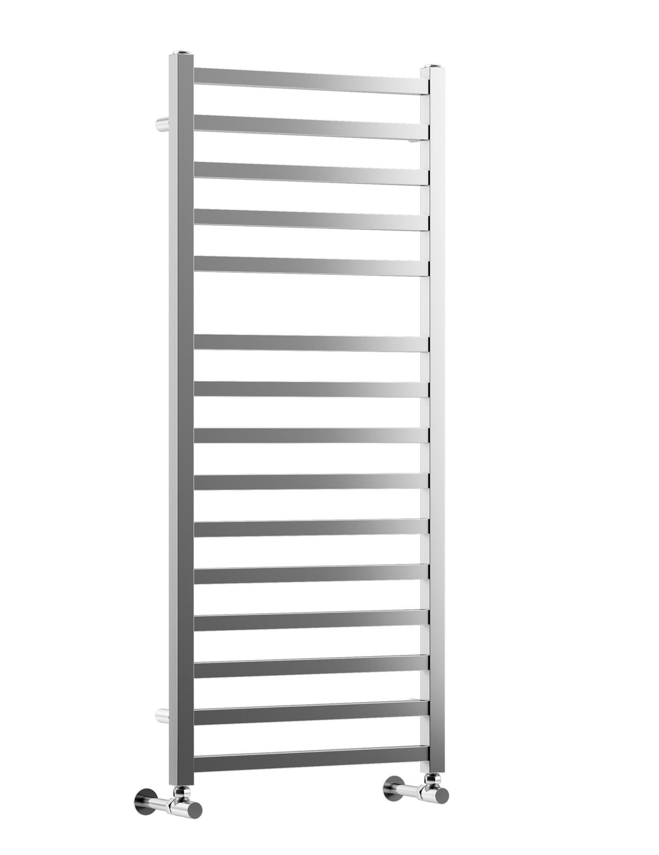 Dq Heating Q2 White Heated Towel Rail 600 X Mm