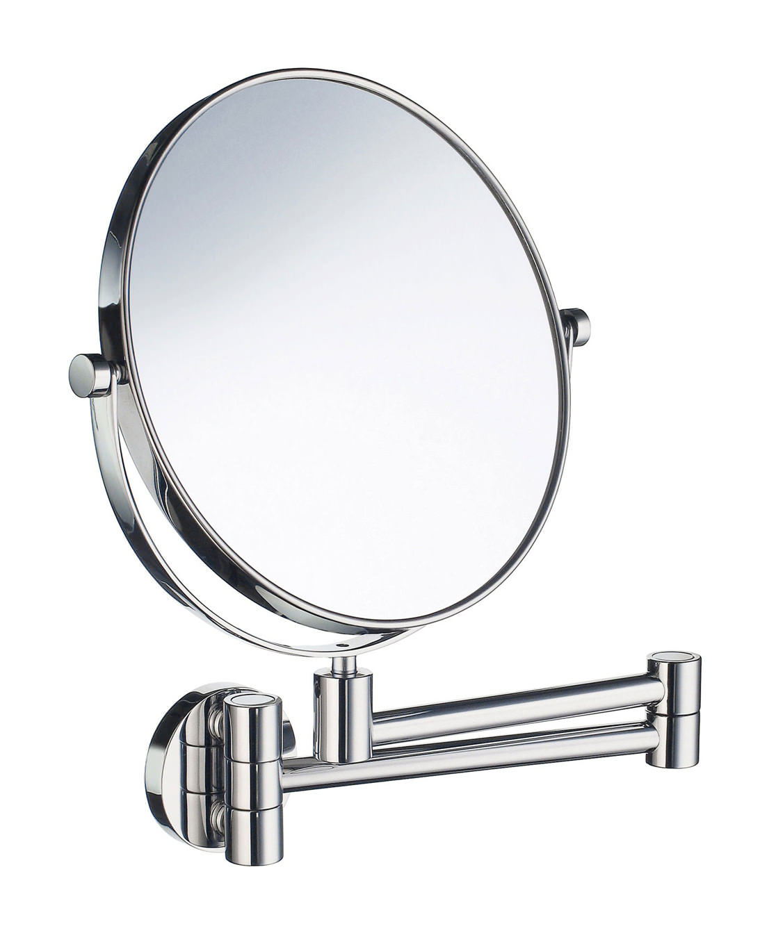 Smedbo Outline Swing Arm Shaving And MakeUp Mirror Round