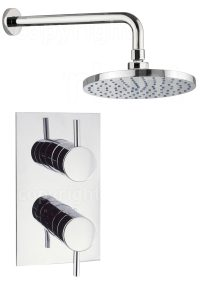 Crosswater Kai Lever Thermostatic Concealed Valve With ...
