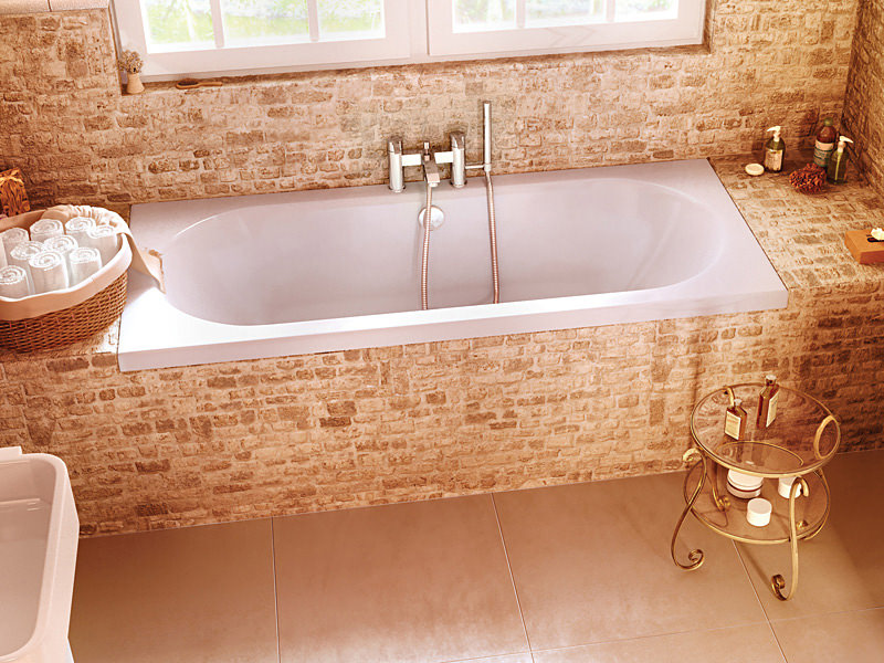 Cleargreen Verde Rectangular Double Ended Bath 1800 x