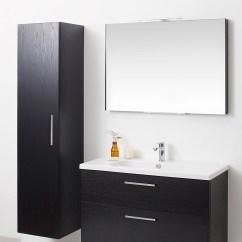 Kitchen Cabinet Sizes Counter Bar Miller New York White 400 X 1690mm Single Door Tall ...