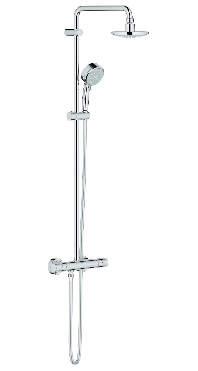 Grohe New Tempesta Cosmopolitan Thermostatic Shower System
