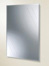 HIB Albina Rectangular Bevelled Edge Bathroom Mirror ...