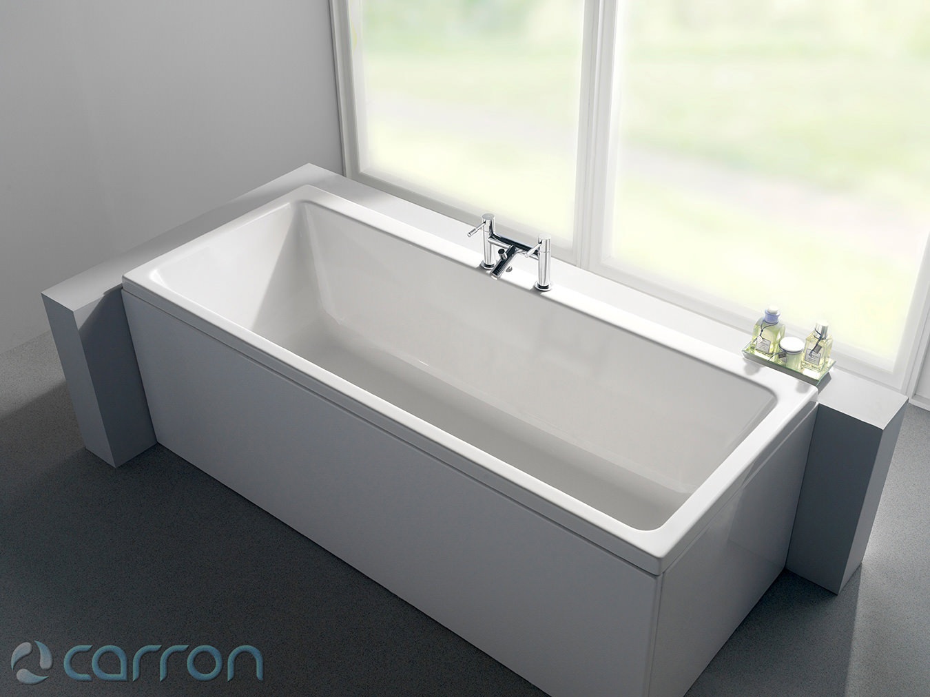 Carron Quantum Double Ended Acrylic Bath 1700 x 700mm  Q4