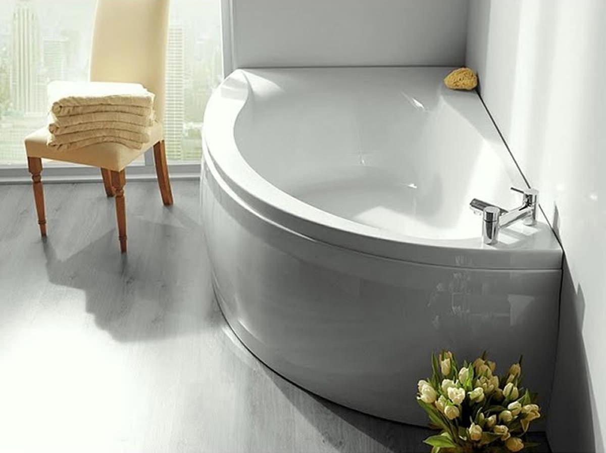 Carron Dove Offset Corner Left Hand Bath 1550 x 950mm  Q402232