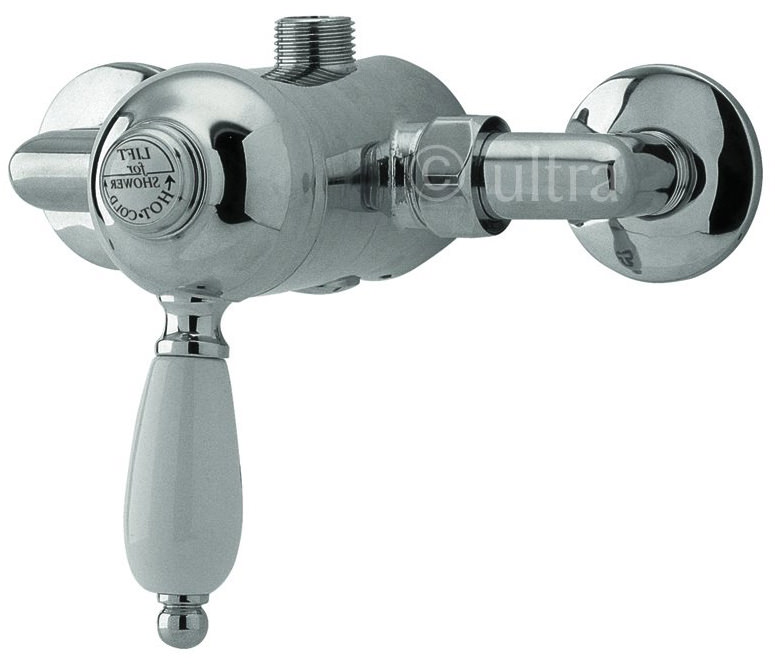 Premier Bathroom Nostalgic Exposed Manual Shower Valve