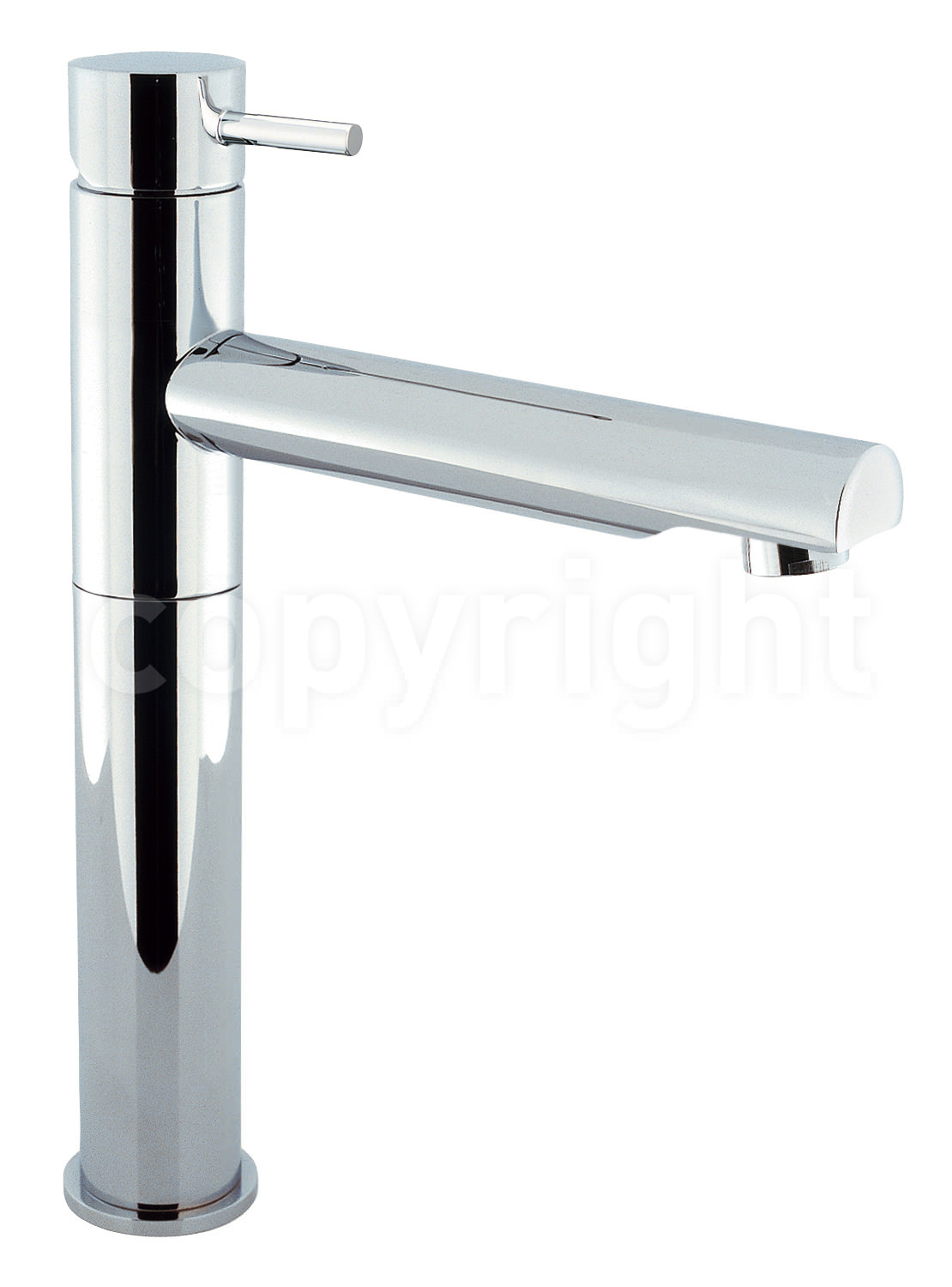 Crosswater Kai Lever Monobloc Swivel Spout Tall Basin
