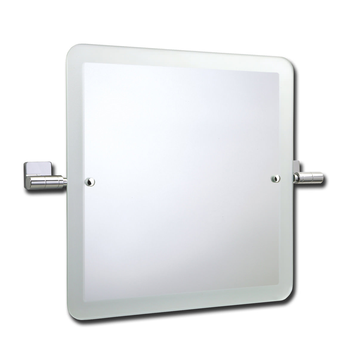 Roper Rhodes Glide Swivel Square Mirror with Frosted Edge