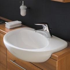 Large Kitchen Sinks Floors Ideal Standard Create Edge 560mm Semi Countertop Basin ...
