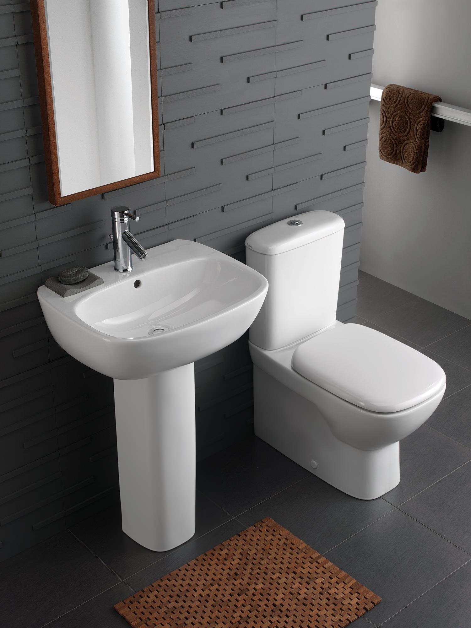 Twyford Moda Rimfree Close Coupled BackToWall WC Pan And