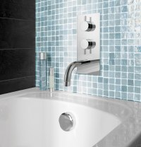 Crosswater Kai Lever Thermostatic Valve With Spout And