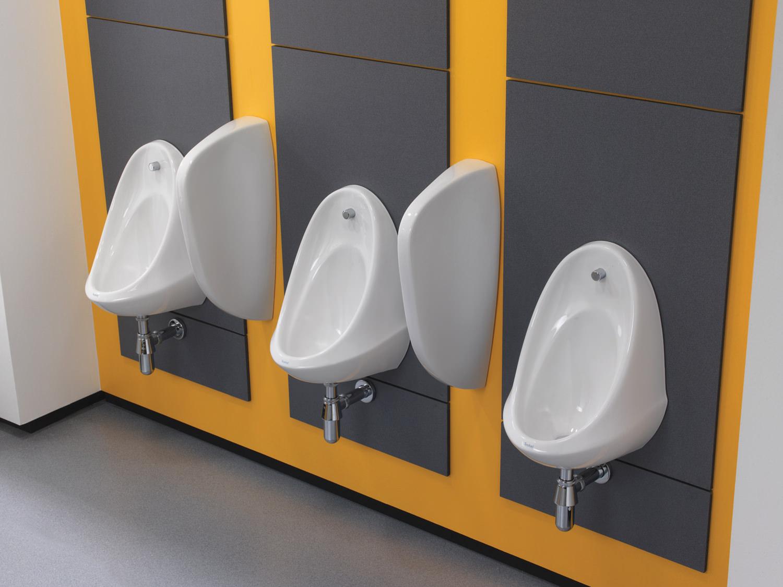 Twyford Camden 500 X 350 X 330mm Single Urinal Bowl  VC7003WH