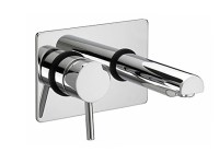 Bristan Prism Wall Mounted Bath Filler Tap Chrome Plated ...