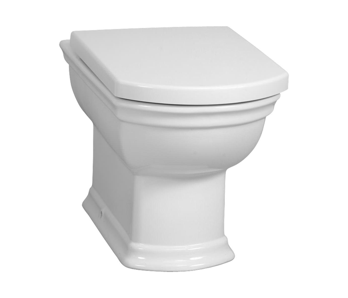 VitrA Serenada BackToWall WC Pan With Toilet Seat