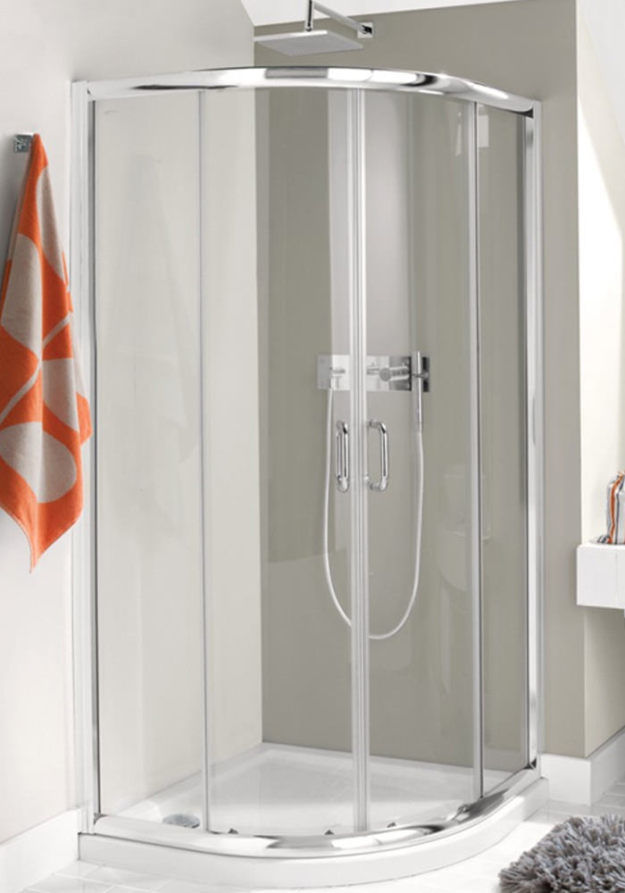 Simpsons Supreme Luxury Curved Quadrant Shower Enclosure