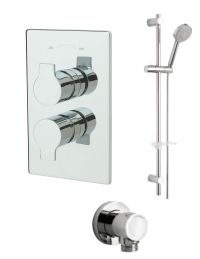 Tre Mercati Angle Concealed Valve With Slide Rail Kit And