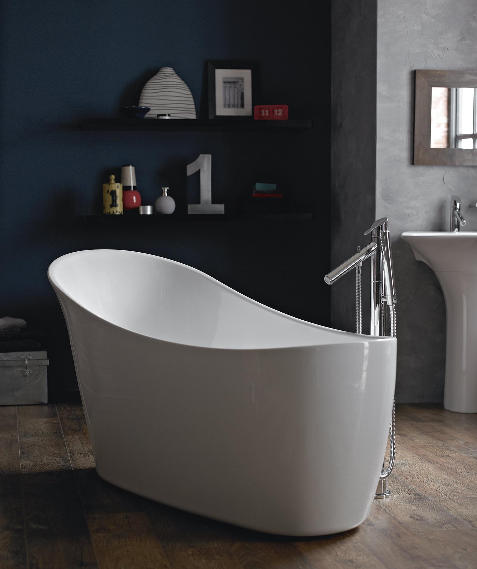 Heritage Polperro Freestanding Slipper Bath 1590 x 680mm