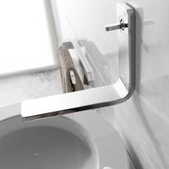 Kitchen Wall Faucets Best Water Filter System Porcelanosa Noken Lounge Mounted Chrome Basin Mixer Tap