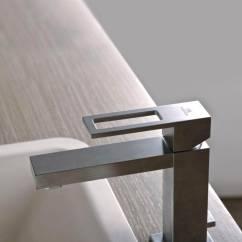 Stainless Steel Kitchen Faucets Kitchens Direct Porcelanosa Noken Irta Finish Basin Mixer Tap