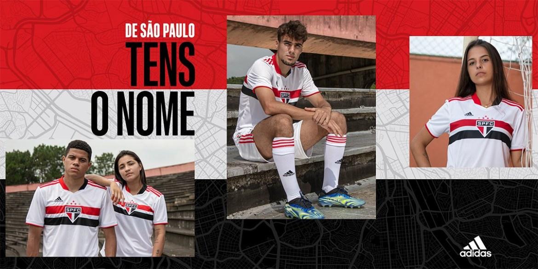Novas camisas do São Paulo FC 2021-2022 Adidas » Mantos do Futebol