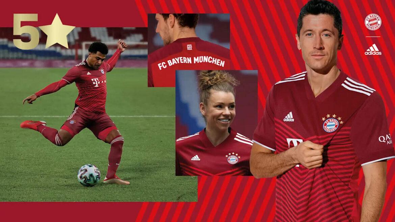 Camisas do Bayern de Munique 2022