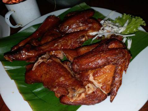 Hasil gambar untuk menu ayam kahaseupan sapu lidi