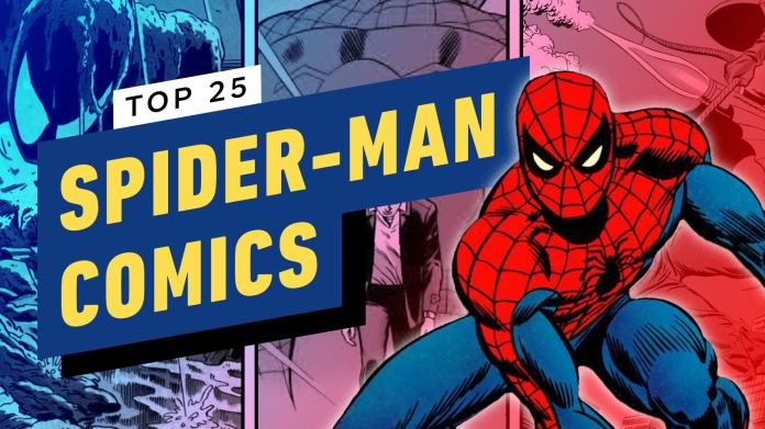 Click through to see our picks for the 25 best Spider-Man storylines of all time, from Peter Parker's original debut to The Death of Gwen Stacy to Spider-Verse and many more.