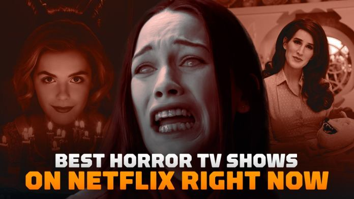 These are the best horror TV series available on Netflix right now.  Note: This listing is for US Netflix subscribers.  Some titles may not currently be available on international platforms.  This article is frequently edited to remove shows that no longer air on Netflix and to include more horror TV series that are now available on the service.  »Class =» jsx-2920405963 progressive-image image jsx-502788047 expand loading »data-recalc-dims =