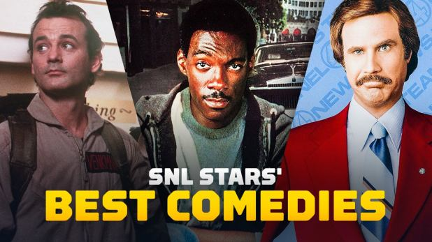 Here's a quick look at the best comedies starring SNL cast members, from Chevy Chase taking his family on a field trip to Bill Murray and Dan Aykroyd, breaking the otherworldly phenomenon down to the inspired and obscene version. by Will Forte on MacGyver ...