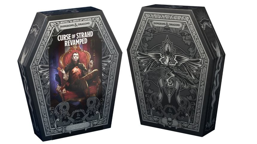 Exclusive: First Look at D&D's 'Curse of Strahd Revamped' Collector's  Edition - IGN